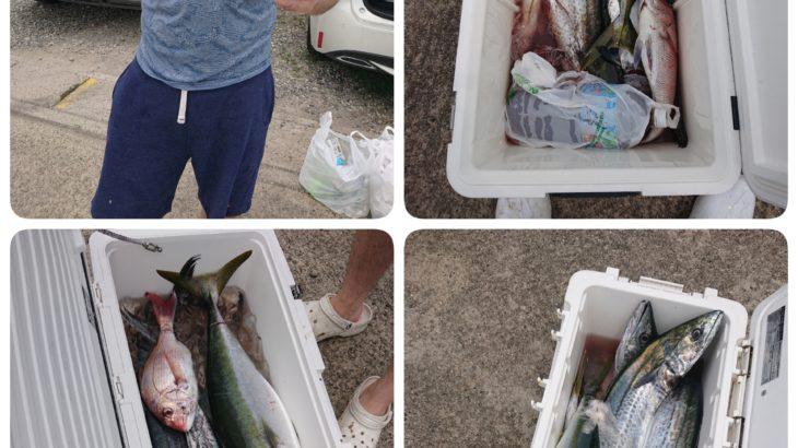 愛知県|7/14大漁な1日でした🎣😀