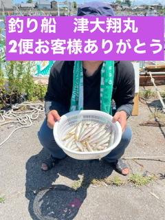 三重県|津大翔丸 キス釣りまだまだ釣れますよ