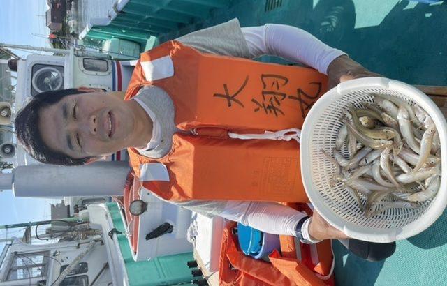 三重県|津大翔丸 只今、キス釣り爆釣り中
