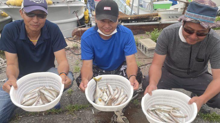 三重県|只今、キス釣り爆釣り中