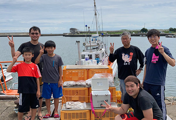 三重県|香良洲釣り船りき丸 キス大漁