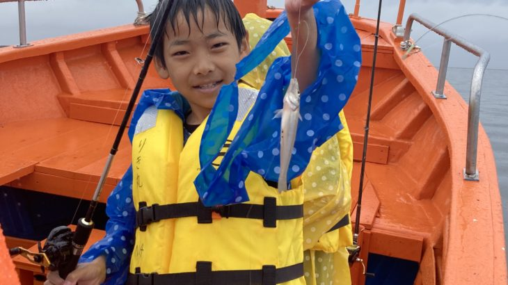 三重県 船でキス釣り