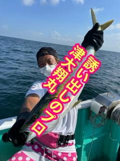 三重県 津大翔丸 誘い出しの釣り サワラ ワラサ