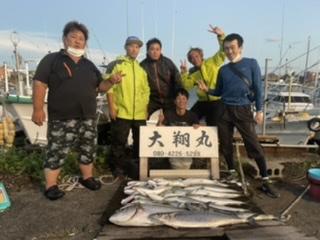 三重県|津大翔丸のサワラ青物爆釣り合戦