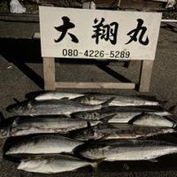 三重県|津大翔丸のサワラキャスティング
